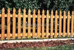 ниски дървени огради по поръчка