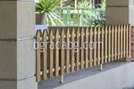 изработка за дървени пана за ниски дървени огради
