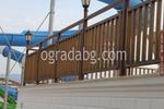 изработка на ниски дървени оградни пана