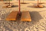 Универсални шезлонги за плажна ивица за всесезонно използване