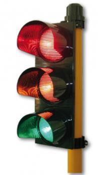 Светофар червен/жълт/зелен 100 мм