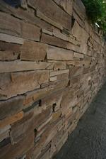 декоративен камък сух зид