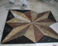 Подови мозайки от мрамор и гранит по поръчка