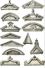 Изработка на фронтони с различна големина и форма