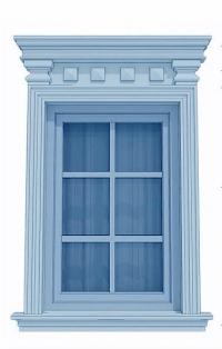 Фасадни декорации за прозорци