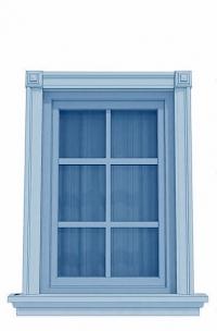Изработка на класически рамки за прозорци