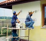поставяне по поръчка на фасадна мазилка