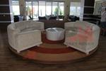 Здрави сепарета по проект за лоби бар на хотел