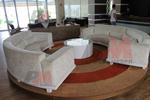 Дизайнерски сепарета по проект за лоби бар на хотел