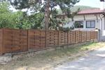 високи плътни дървени огради по поръчка