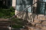 стълбищен парапет от алуминии и стъкло по поръчка