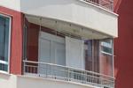 метален парапет за балкон