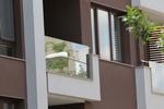 изграждане на стъклени парапети за тераси