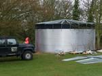 доставка на сглобяеми резервоари за съхранение на селскостопанска дейност