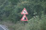 изработка на предупредителни пътни знаци