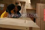 дървена врата за интериора по поръчка