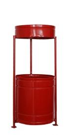 Метален съд за смет с размери 320х350мм