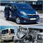 Осигуряване на трансфер с Opel Vivaro от летище София