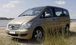 Трансфер с Mercedes Viano до летище Бургас