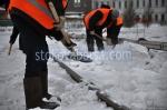 Ръчно снегопочистване