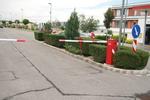 Фирма предлага и продава автоматични бариери за контролно пропускателни пунктове