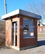 Зидани охранителни бутки за КПП