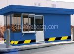 Изработка на охранителни кабини за КПП над 5кв.м.