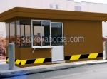 Охранителни павилиони за контролно пропускателни пунктове над 5кв.м.
