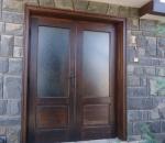 изработка на състарени врати