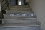 подкладка с пользовательским мраморная лестница