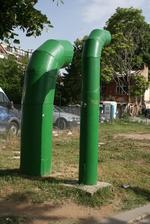 модерна вентилационна система за подлез