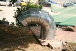 индустриална вентилационна система за подлез