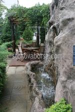 водопад от изкуствен камък за кръчма