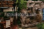 водопад от изкуствен камък за заведение