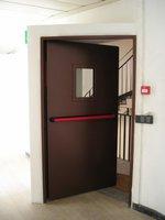 противопожарна врата еднокрила