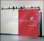 плъзгаща противопожарна врата