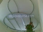 изработка на кръгъл окачен таван от гипсокартон