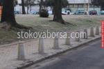 изработка на ограничители за паркиране от бетон