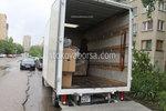 качване на мебели и обзавеждане в камион по поръчка