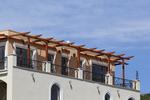 дървени перголи за тераси