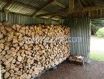 изработка на навес за дърва