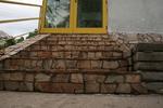 гнайсно облицоване на стълбище