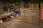 оградни пана от чам с размер 200x125см