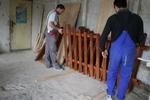 оградни пана боядисани с цветен лак