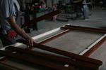 изграждане на дървени огради с боя по RAL каталог