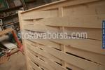 дървени огради от чам с оградни пана 200x70см