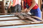 огради от дървени пана 200x80см