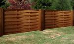 дървени огради от дървени пана