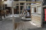 Дървени търговски сергии по поръчка