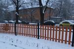 дървени огради за обществени градинки